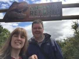 Britannia 6 July 2015 Edinburgh zoo Joanne and Jason