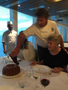Britannia 6 July 2015 The Cookery Club James Martin dinner night