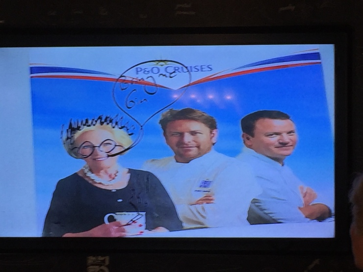 The Cookery Club James Martin graffiti July 2015