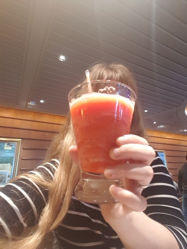 Independence of the Seas 29 June 2017 Joanne cocktail