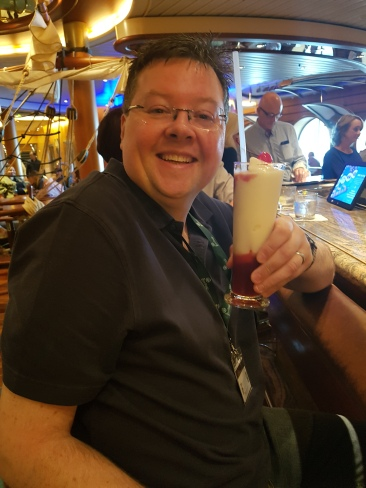 Independence of the Seas 29 June 2017 Jason cocktail