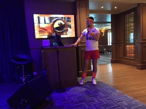 Britannia 6 July 2015 Broadies quiz with Wezz