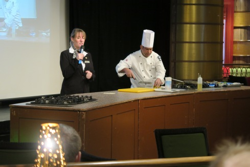 Azura of the Seas cookery class