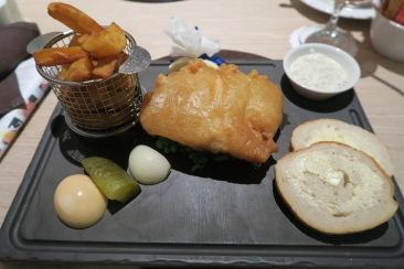 Azura of the Seas Glass House food