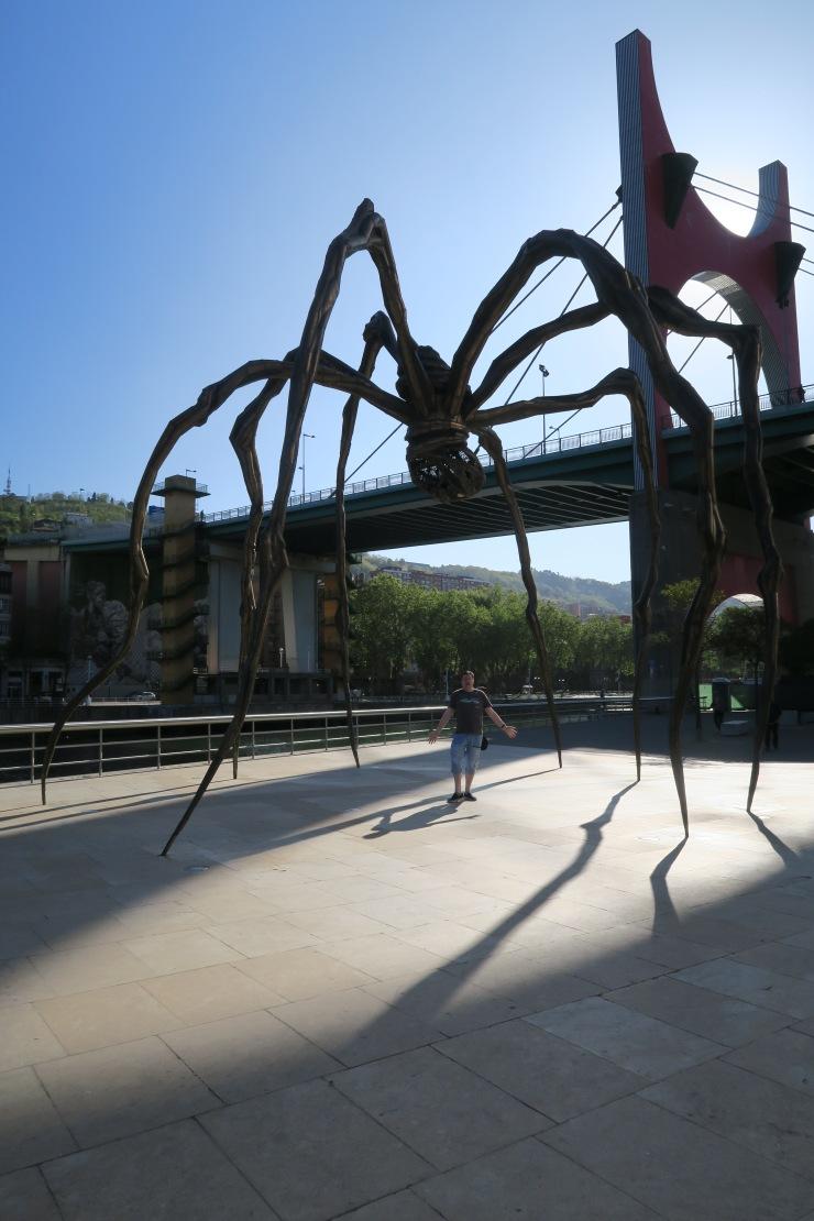 Bilbao - April 2017 - spider