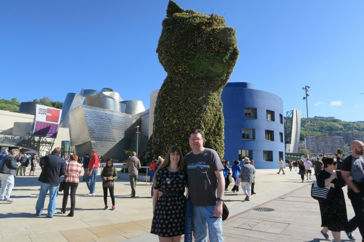 Bilbao - April 2017 - Dog and Joanne and Jason