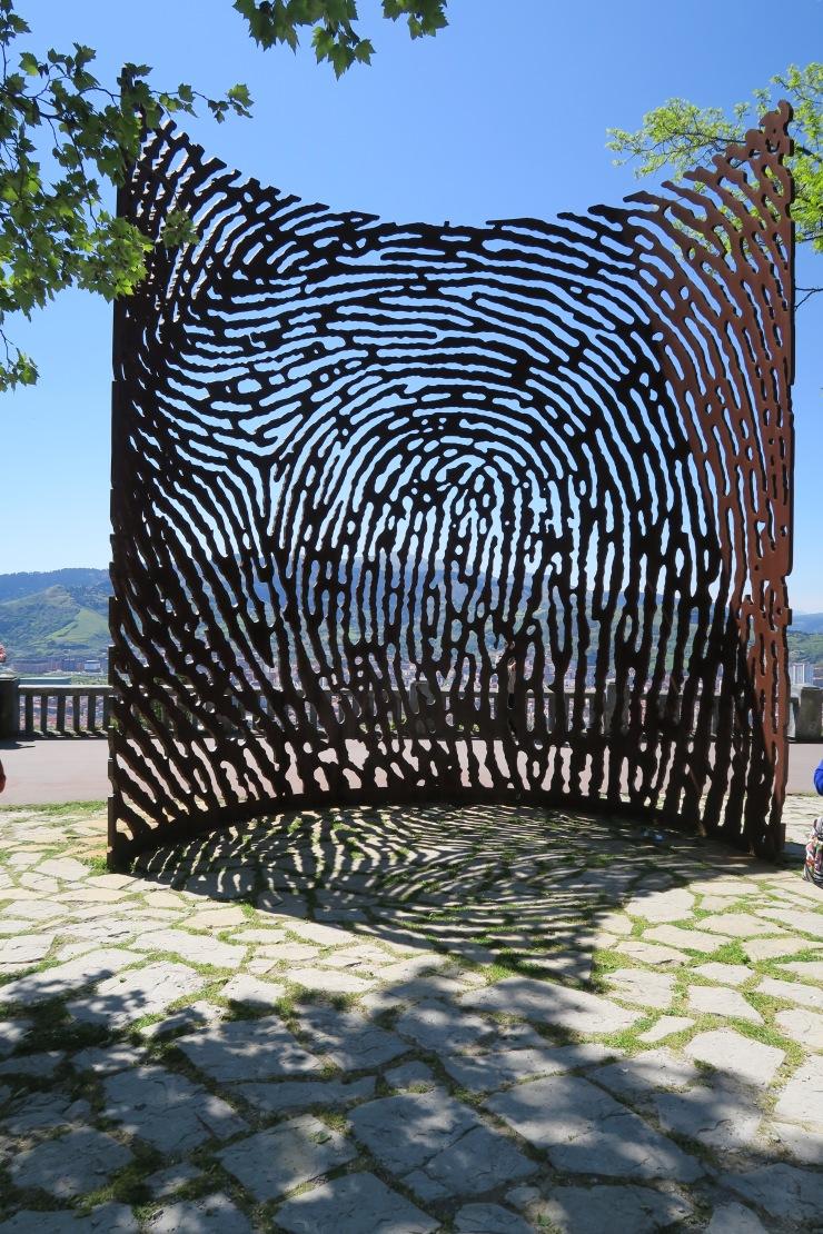 Bilbao - April 2017 - fingerprint