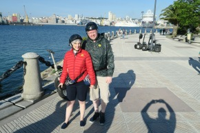 Azura of the Seas Segway Jason and Joanne La Coruna