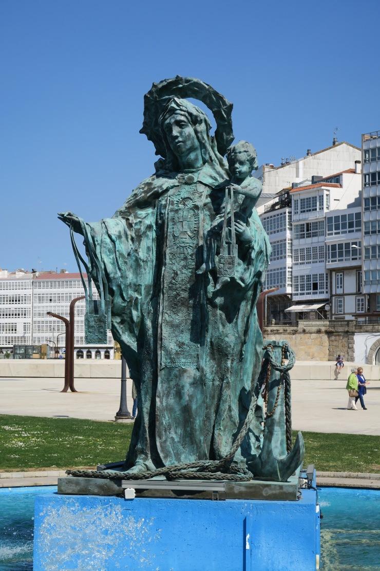 La Coruna - April 2017 - statue