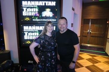 Azura of the Seas Joanne and Tom Binns