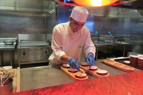 Azura of the Seas Sindhu chef