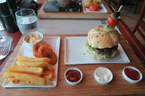 Azura of the Seas Beach House Burger