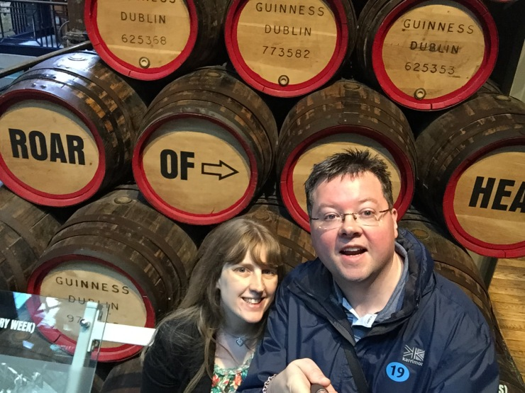 Dublin - July 2015 - Guinness Factory - us