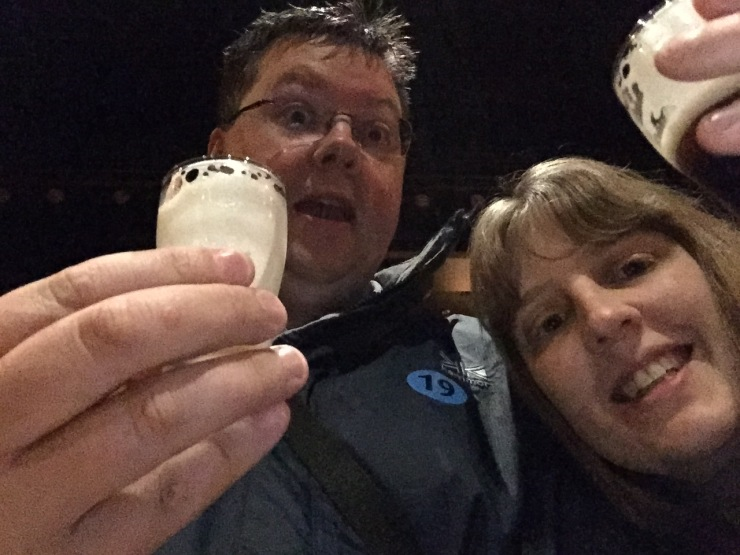 Dublin - July 2015 - Guinness Factory - samples been tried by us