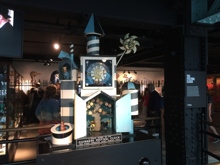 Dublin - July 2015 - Guinness Factory - clock