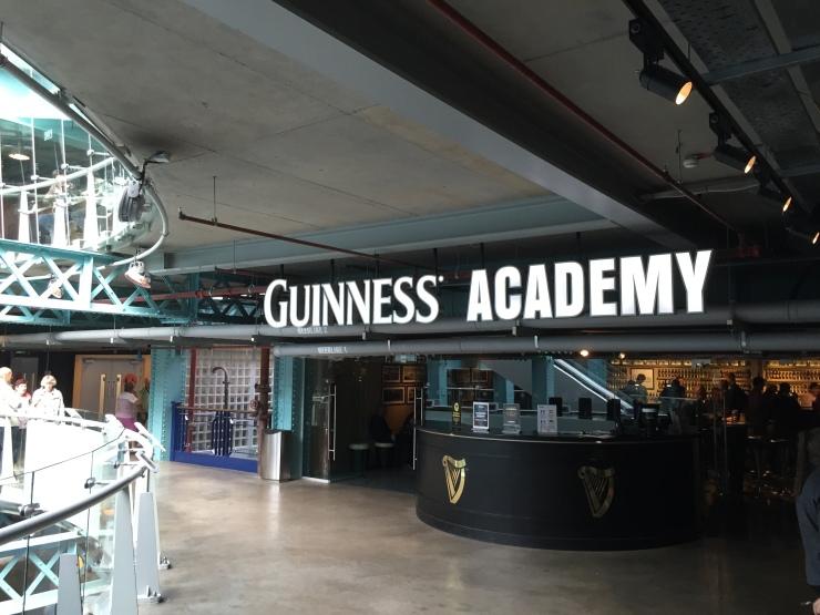 Dublin - July 2015 - Guinness Factory - Guinness Academy