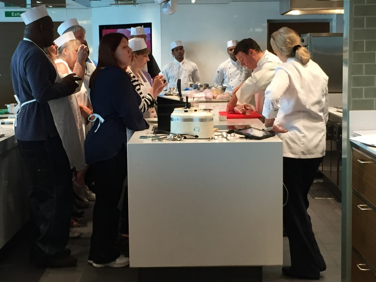 Britannia 6 July 2015 Cookery Class with Theo Randall
