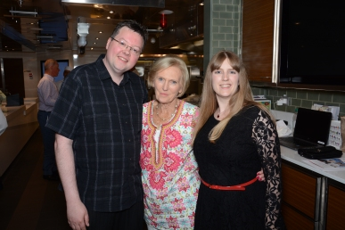 Britannia 6 July 2015 The Cookery Club Jason, Mary Berry and Joanne