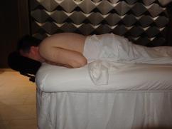 Britannia 6 July 2015 spa massage Jason
