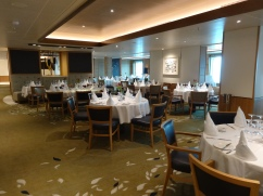 Britannia 6 July 2015 The Meridian Restaurant main dining room