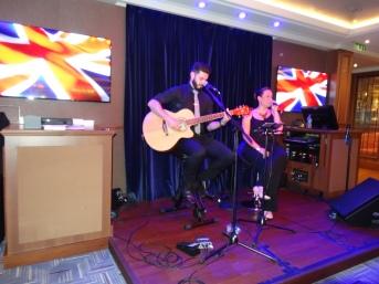Britannia 6 July 2015 Matt and Sarah singers