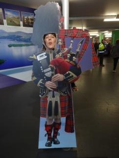 Britannia 6 July 2015 Glasgow bagpipe Joanne