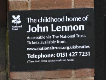 Britannia 6 July 2015 Liverpool John Lennon plaque