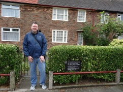Britannia 6 July 2015 Liverpool Jason at Paul McCartney house