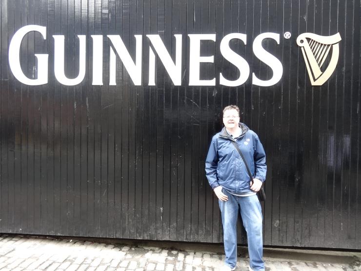 Dublin - July 2015 - Guinness Factory - Jason outside