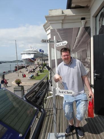 Britannia 6 July 2015 Cobh / Cork Titanic Jason