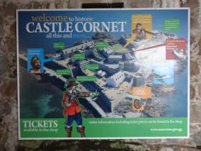 Britannia 6 July 2015 Guernsey The Castle Cornet