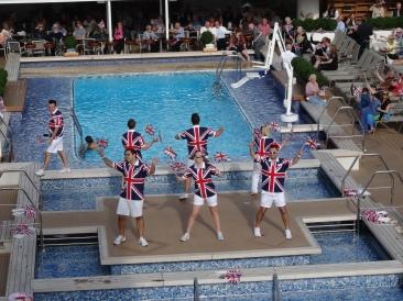 Britannia 6 July 2015 sail away party