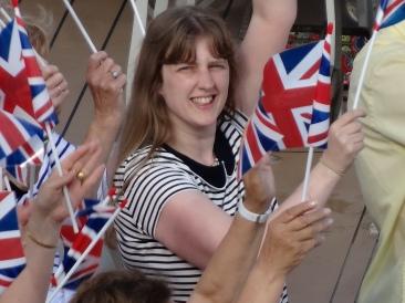 Britannia 6 July 2015 Joanne sail away party