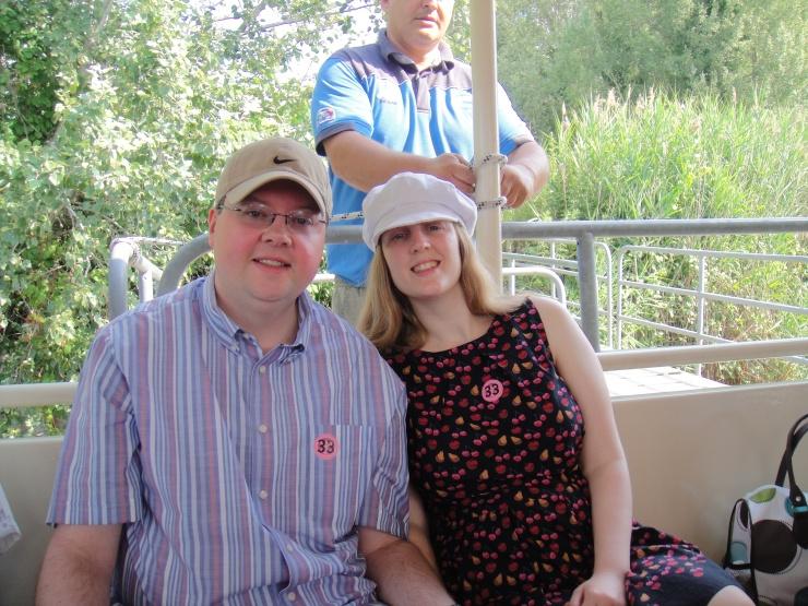 Livorno - July 2012 - Jason and Joanne on boat