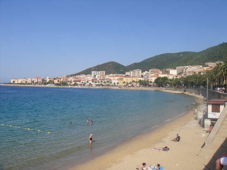 Ajaccio - July 2012 - beach