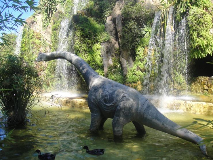 Cadiz - July 2012 - dinosaur in Dinosaur Park