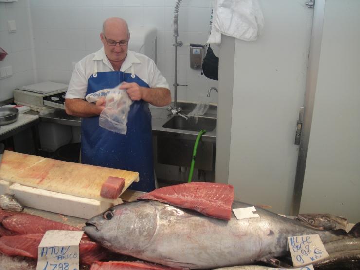 Cadiz - July 2012 - fish at market