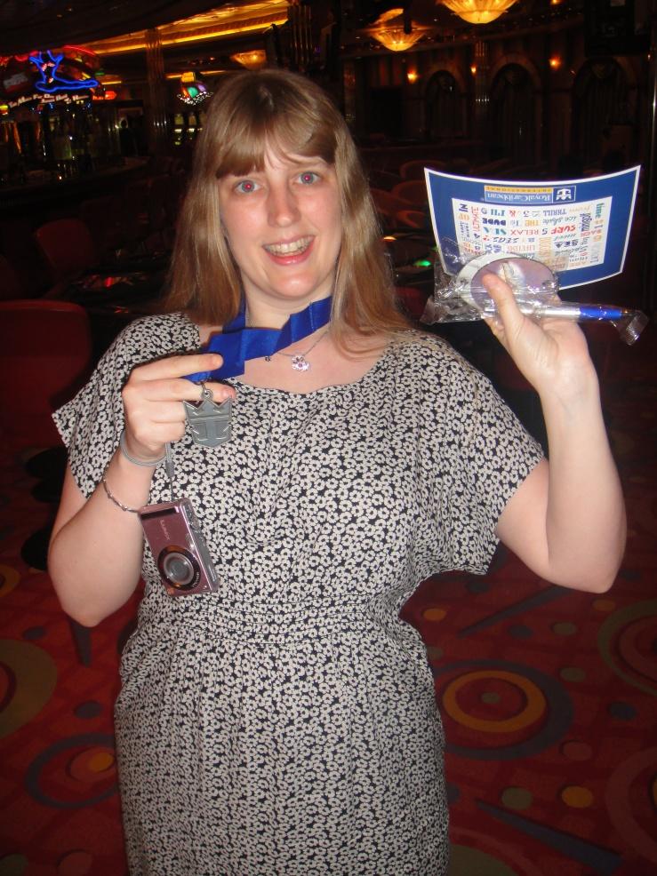 Joanne bowling winner