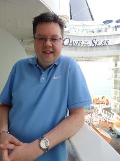Oasis of the Seas balcony view