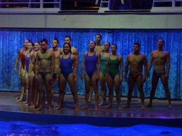 Oasis of the Seas aqua show