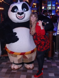 Oasis of the Seas Joanne and panda