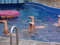 Oasis of the Seas Aqua Splish Splash show