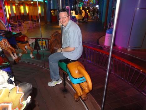 Oasis of the Seas Jason carousel