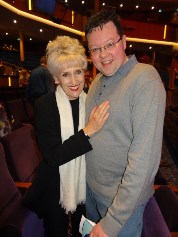 Anthem of the Seas Jason and Anita Dobson