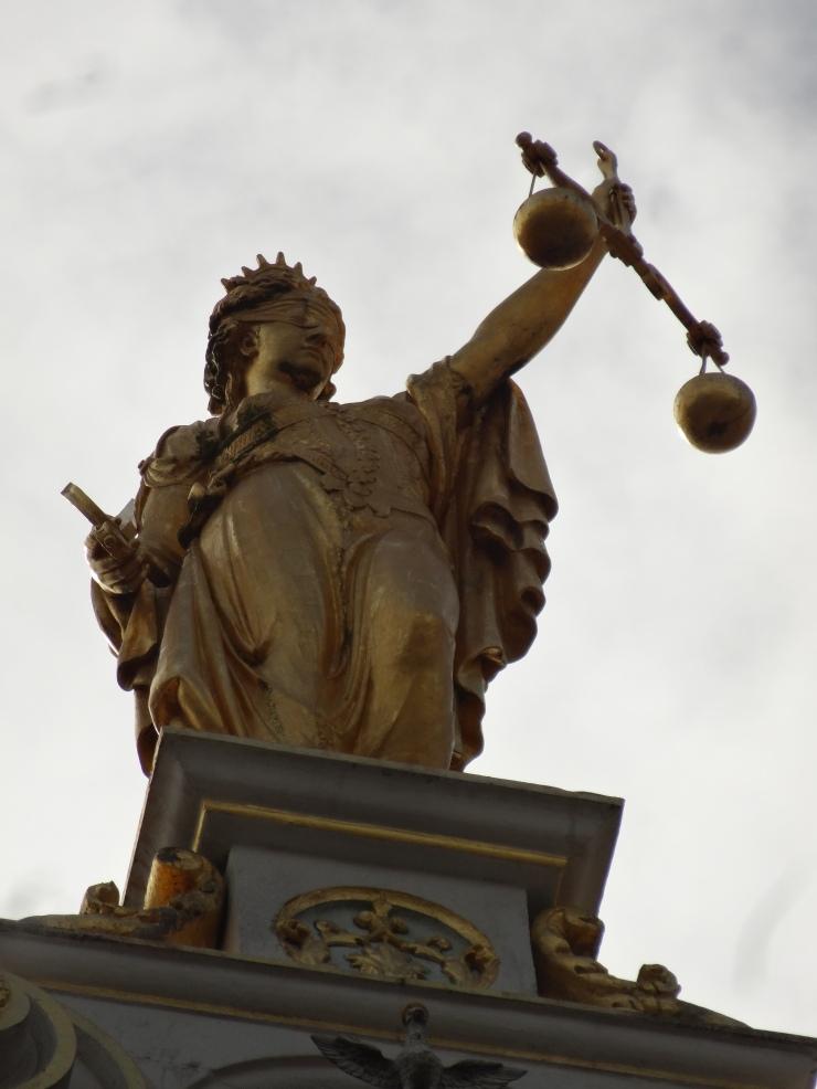 Bruges - April 2015 - statue