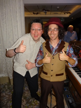 Anthem of the Seas Jason and Piano man