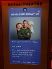 Anthem of the Seas Paul Zerdin