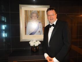 Britannia 6 July 2015 Queen and Jason