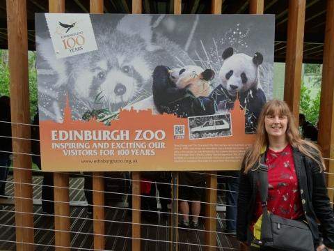 Britannia 6 July 2015 Edinburgh zoo Joanne