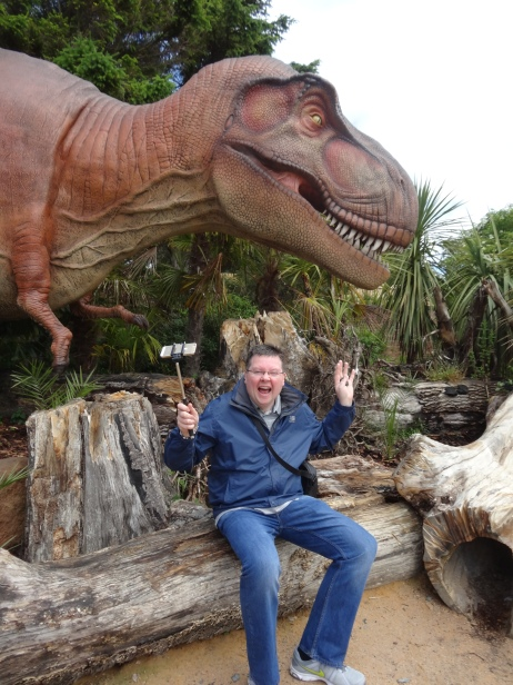 Britannia 6 July 2015 Edinburgh zoo Jason and dinosaur
